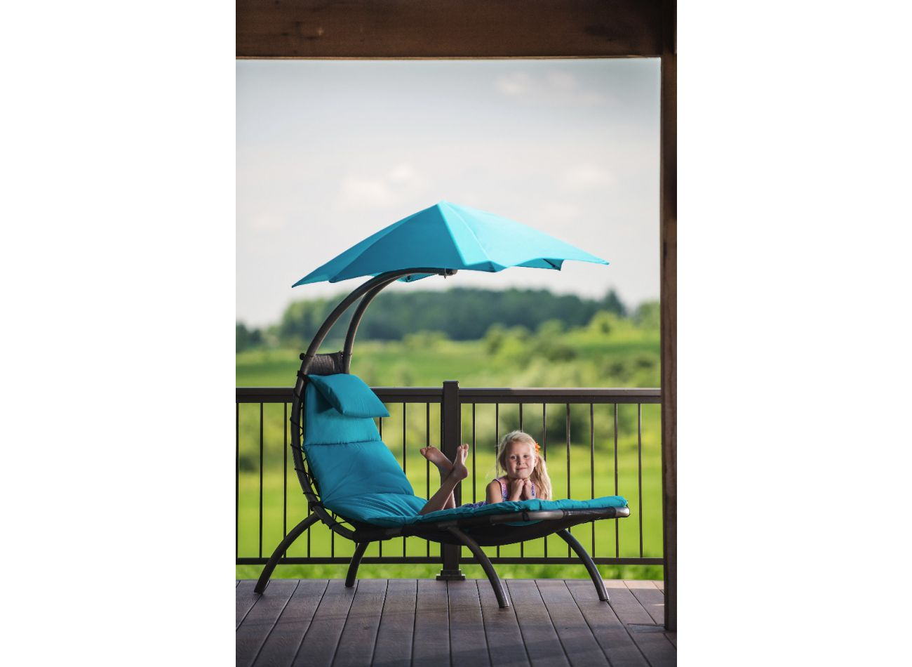 Original 1 Person Dream Lounger Turquoise