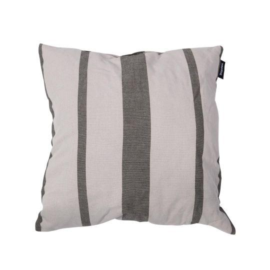 Kissen Stripes Silver