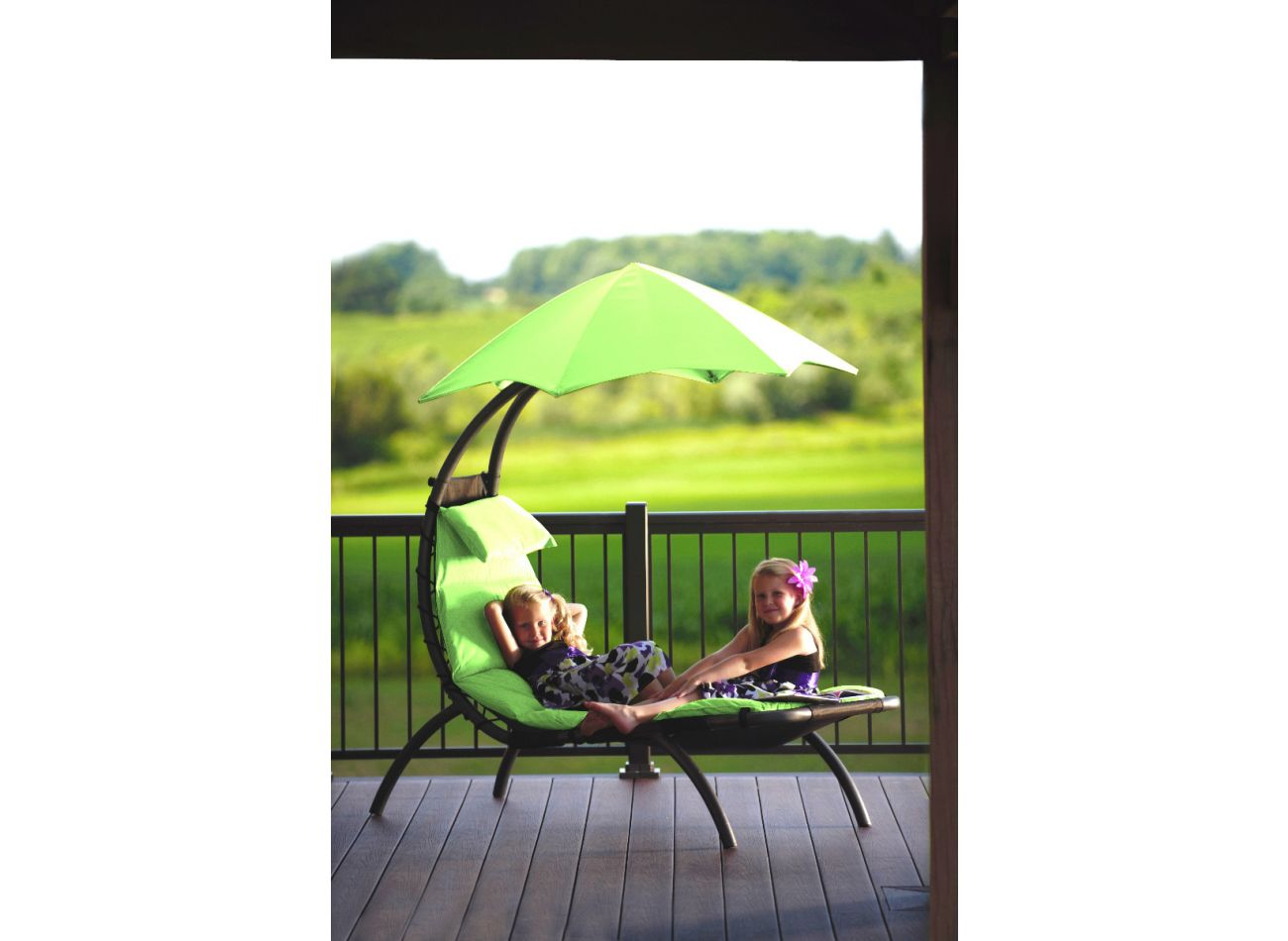Original 1 Person Dream Lounger Green