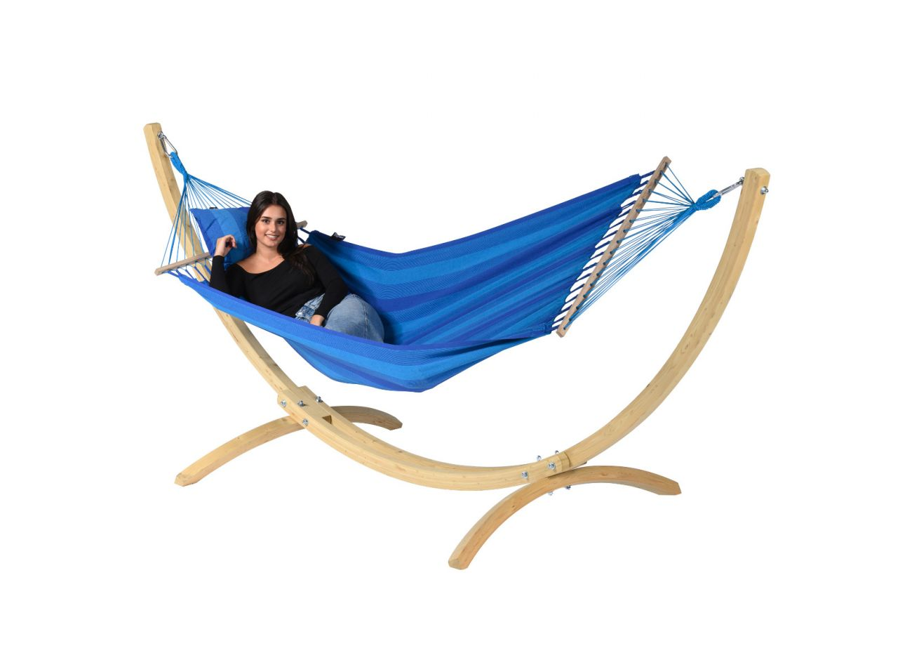 Hängematte 1 Person Relax Blue